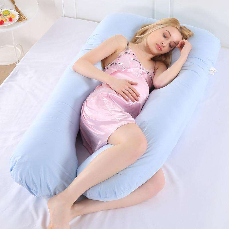 U Shape Sleeping Support Pillow For Pregnant Women | Heccei