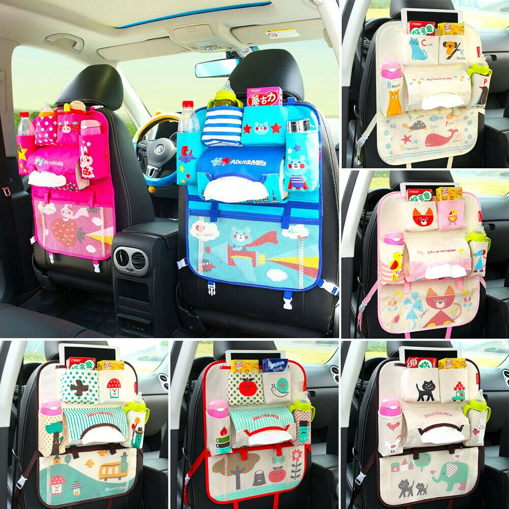 Car Seat Back Multi-Pocket Storage Bag | Heccei