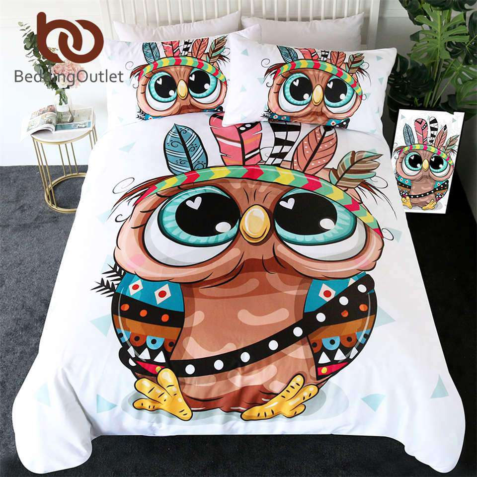 Owl Bedding | Heccei