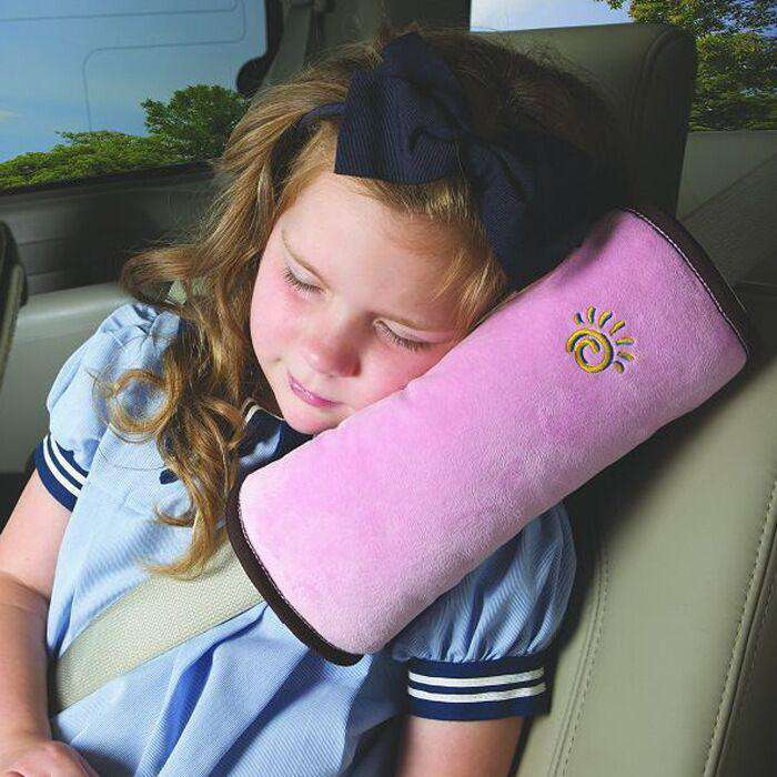 Baby Children Car Soft Headrest Seatbelt Cushion Neck Pillow | Heccei