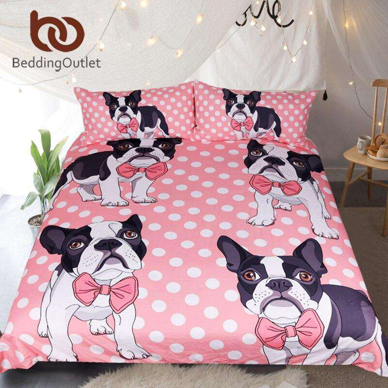 Bulldog Bedding | Heccei