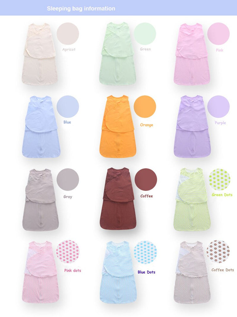 100% Cotton Baby Sleeping Bag  0-6 Months | Heccei
