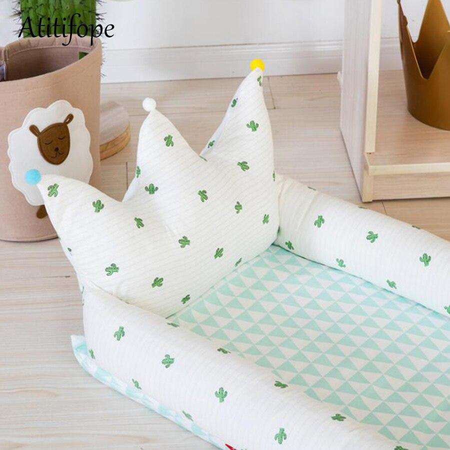 Newborn Baby Cotton Foldable Bed | Heccei