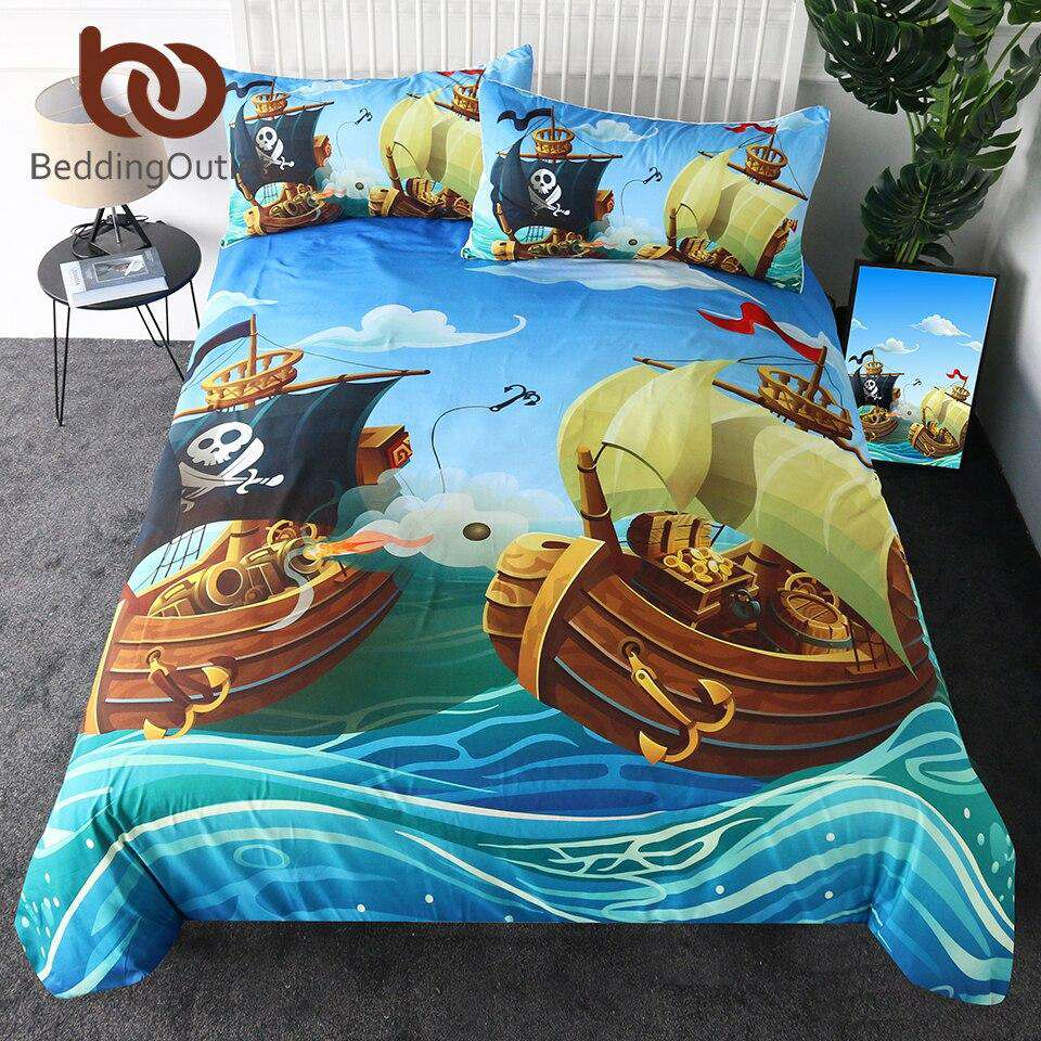 Pirate Bedding | Heccei