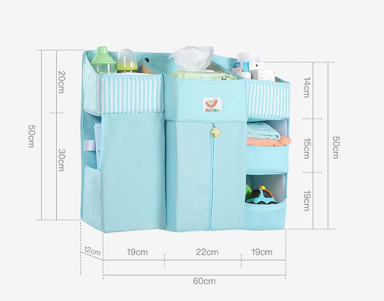 Portable Baby Crib Organizer Bed Hanging Bag for Baby | Heccei
