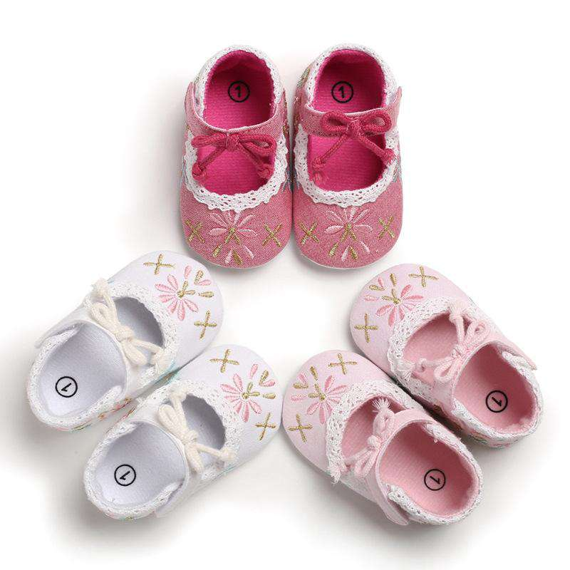 Baby girls cute shoes