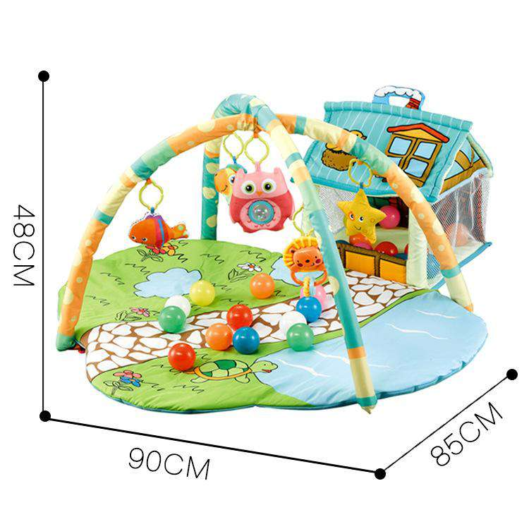baby house play mat | Heccei