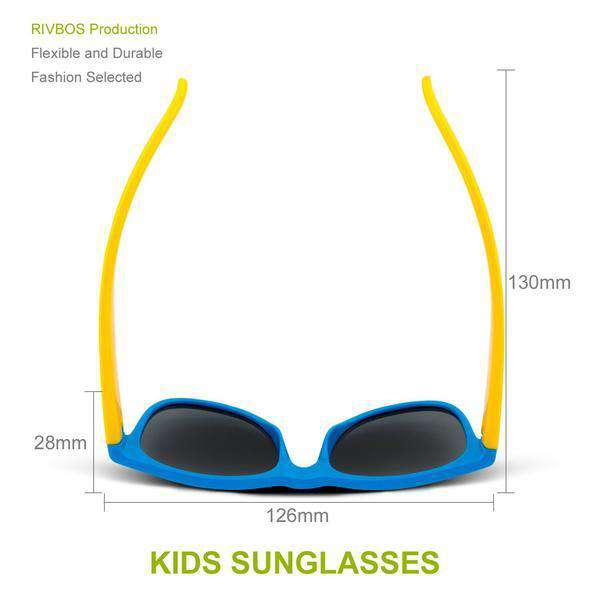 Kids Polarized Sunglasses Retro Children Goggles New Kids UV 400 Protection Sun Glasses | Heccei