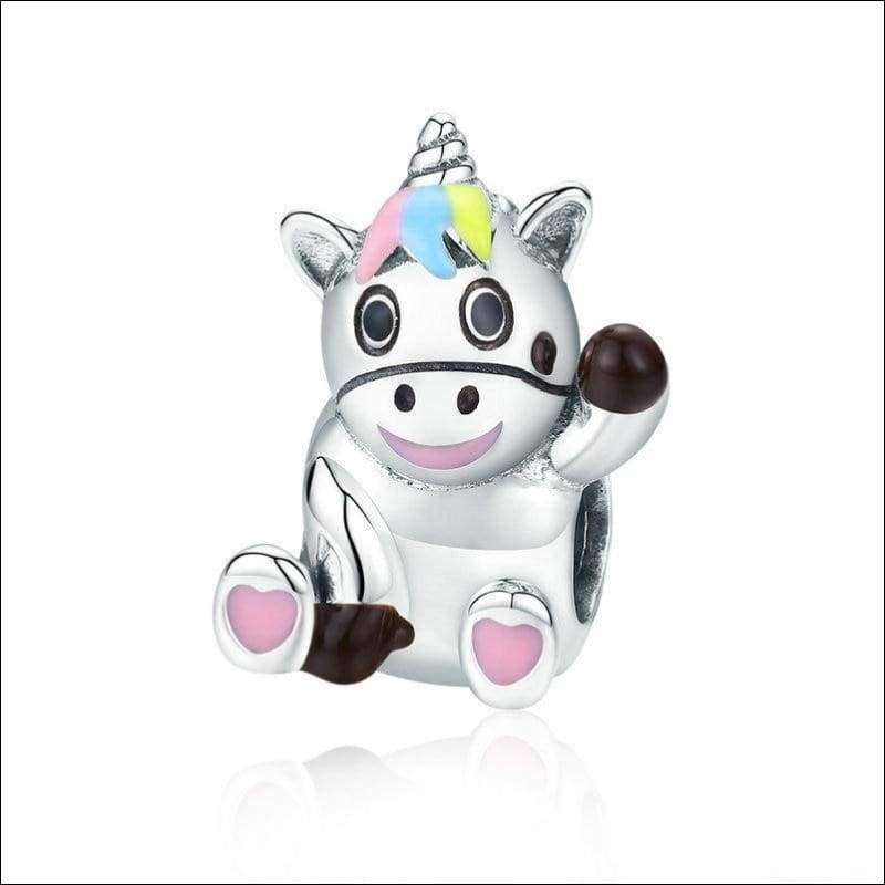Bruno the Unicorn Beads Charm | Heccei