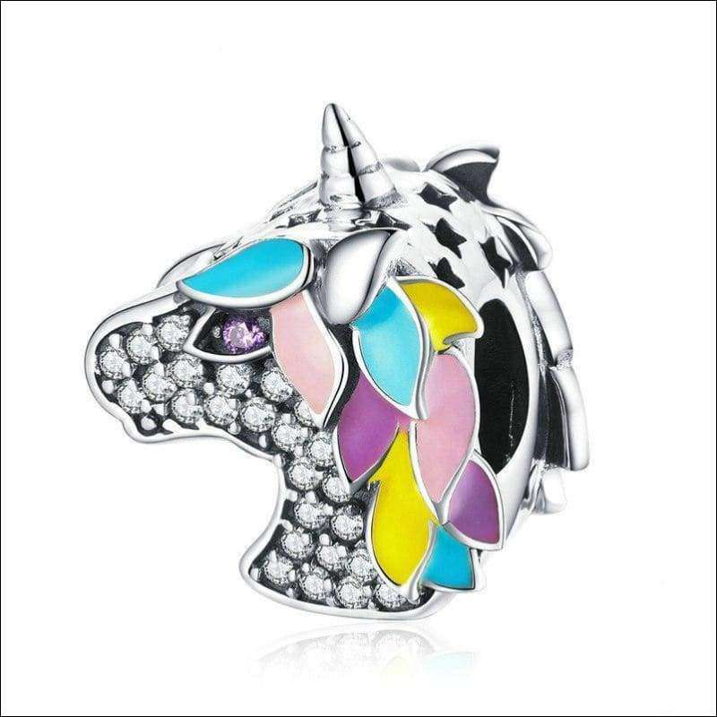 Colorful Unicorn Beads Charms | Heccei