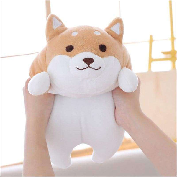 Cute Fat Shiba Inu Dog Plush Toy 36/55