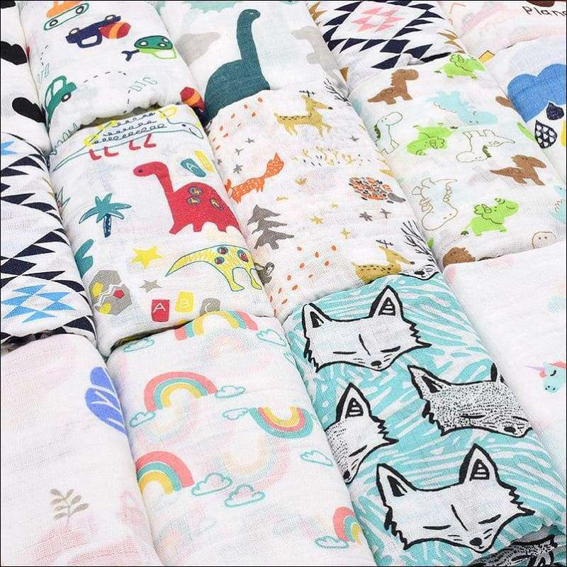 Dinosaur Unicorn Swaddle 100% cotton | Heccei