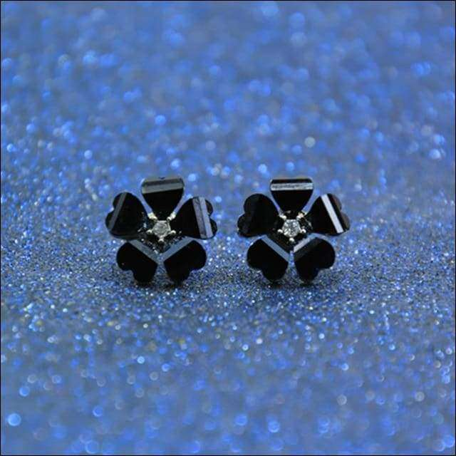 Flower Stud Earrings | Heccei