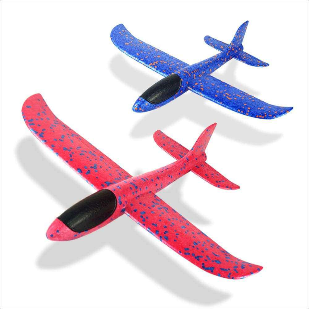 Foam Hand Throw Airplane for kids outdoor | Heccei