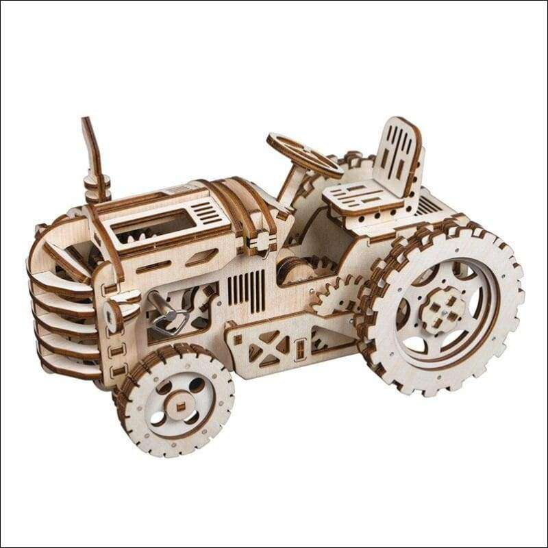 Robotime 6 Kinds DIY 3D Mechanical Model Wooden Model Building Kits | Heccei