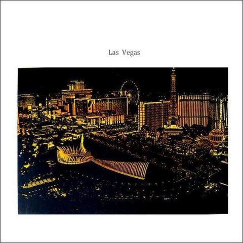 Scratch Art Las Vegas Gold City Night View Painting 40*28.5 cm | Heccei