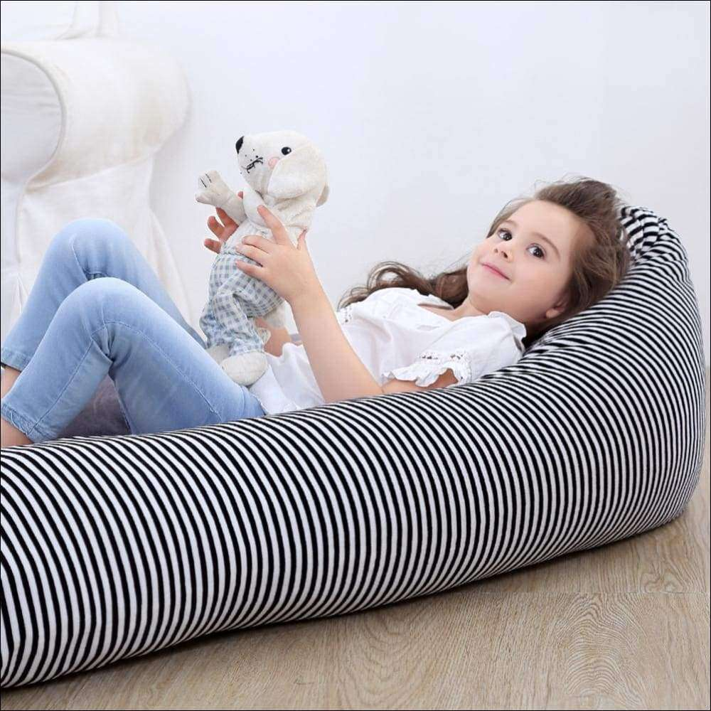 "Stuffed Animal Storage Bean Bag 53"" Premium Large 