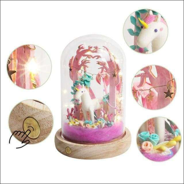 Unicorn Fairy Home DIY Clay Miniature Set | Heccei
