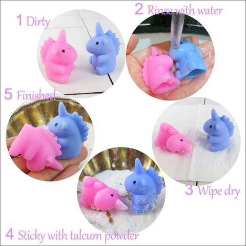 Unicorn Mochi Squishy pack of 10