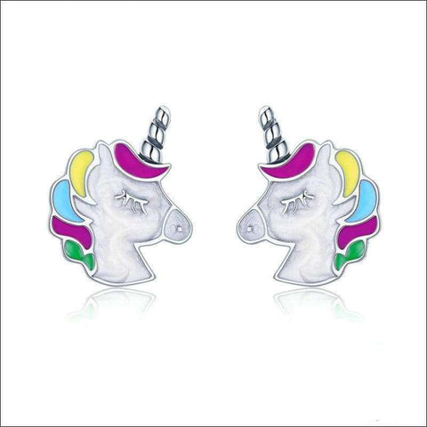 Unicorn Necklace and Earrings for Girls/Women | Heccei