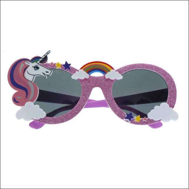 Unicorn Sunglasses Party Accessories | Heccei