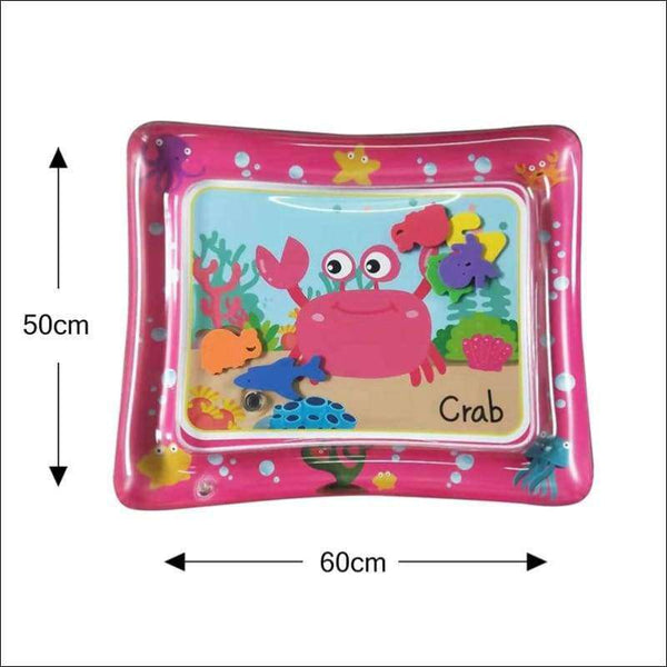 Water Play Mat For Babies Tummy Time