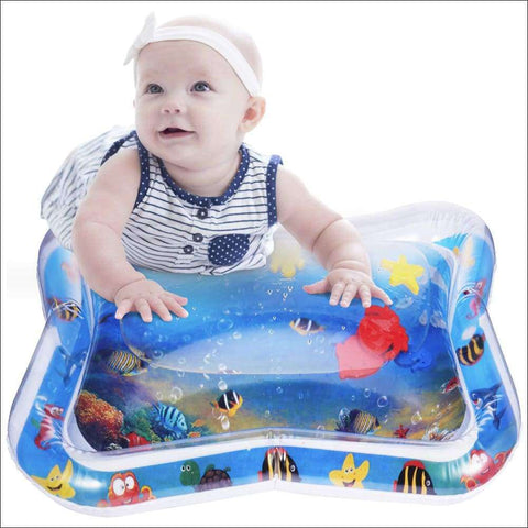 Water Play Mat For Babies Tummy Time | Heccei