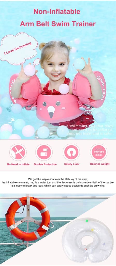 Air-Free Puddle Jumper Life Jacket for kids(3-6 years old)