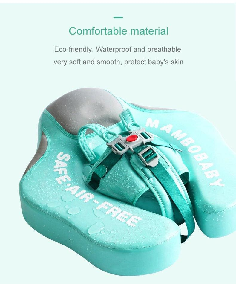 The Mambobaby® Air-Free Chest Float Pro   heccei
