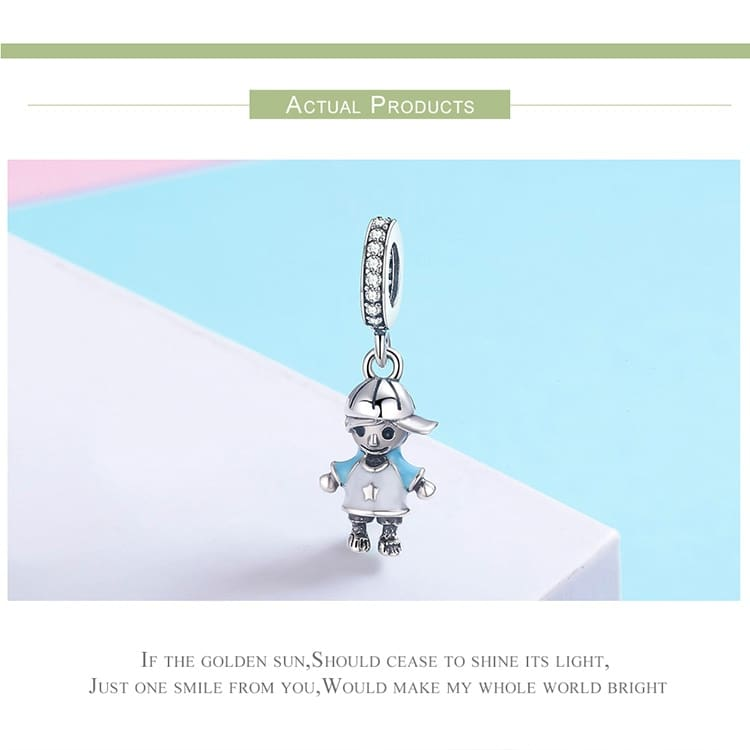 Little Boy & Girl Pendant Charm