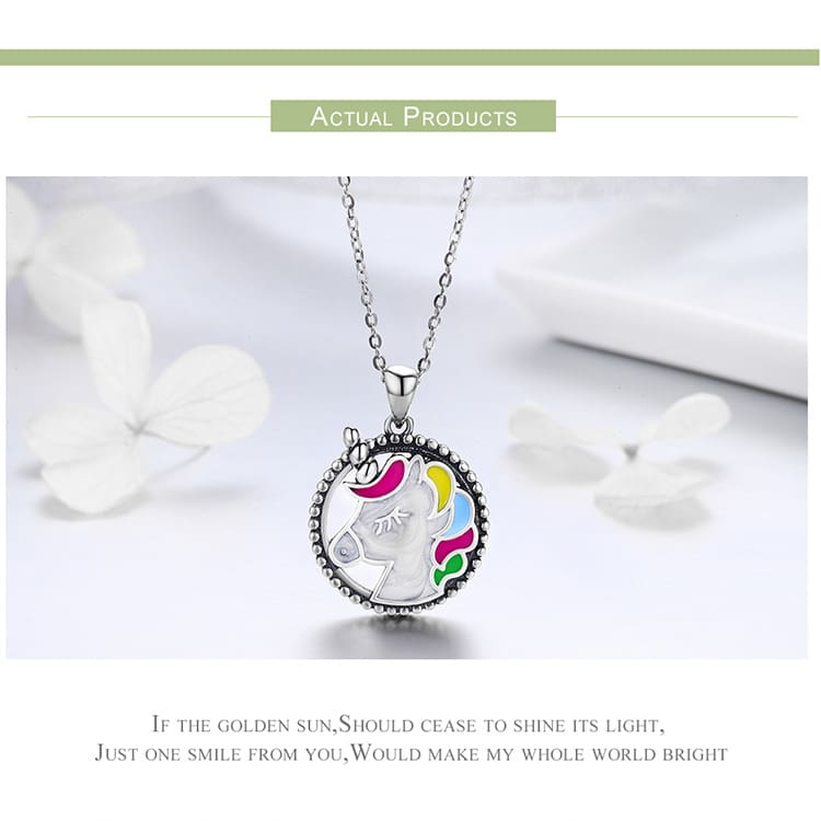 Unicorn Necklace and Earrings for Girls/Women