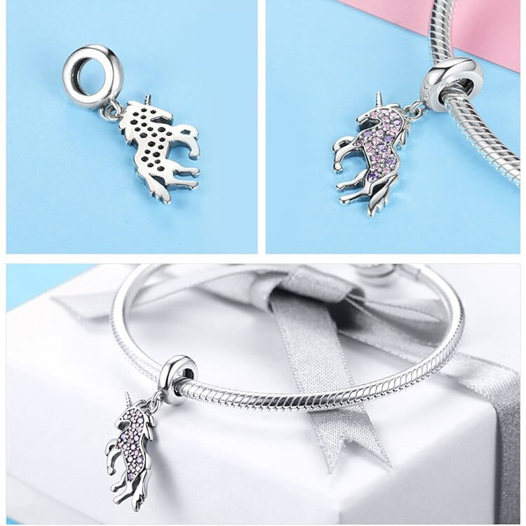 Unicorn Pendant Charms