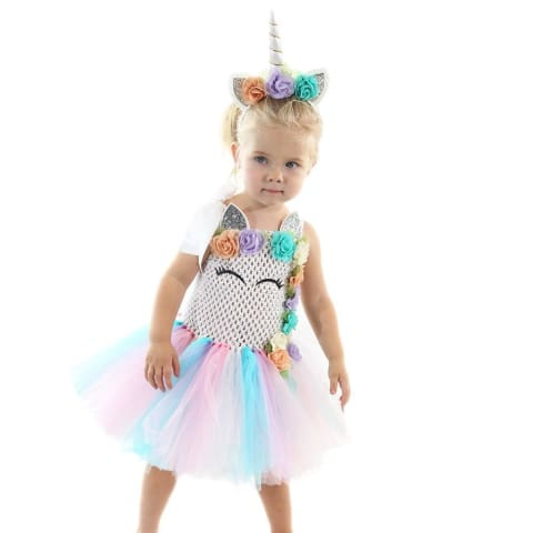 Unicorn Tutu Dress for Girls Party