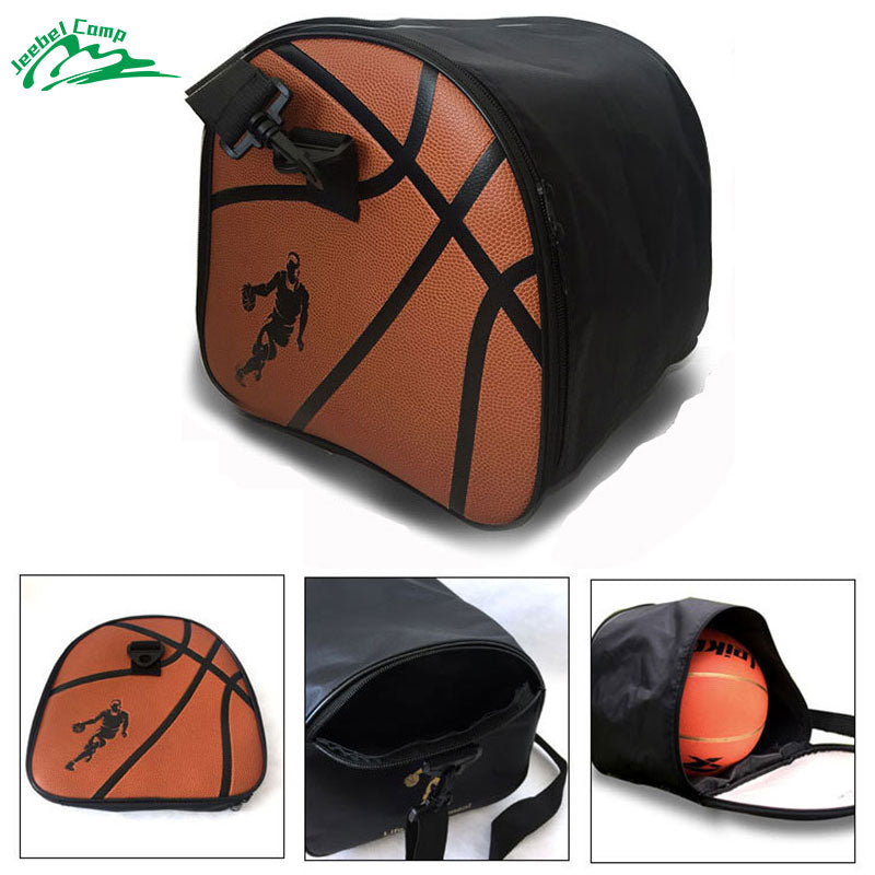 10df089b555 Jeebel Basketball Bag Messenger Bag Soccer Sports Bags Kids Football Kits  Waterproof Volleyball Basketball Bag