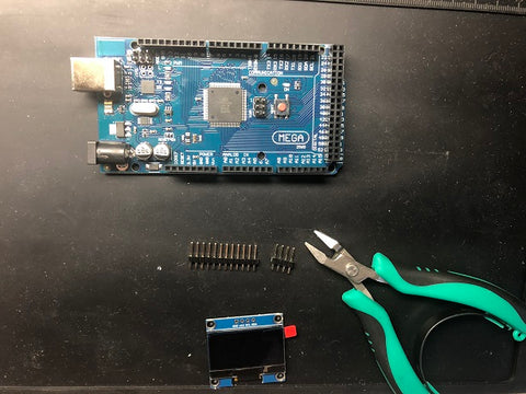 Arduino Mega and 1 3 Inch OLED Display