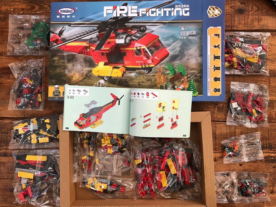 Lego Firefighter Helicopter