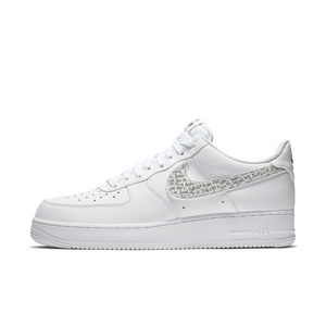 Nike Air Force 1'07 LV8 Jdi Lntc Black White Running Shoes Wmns NIKE ST007357