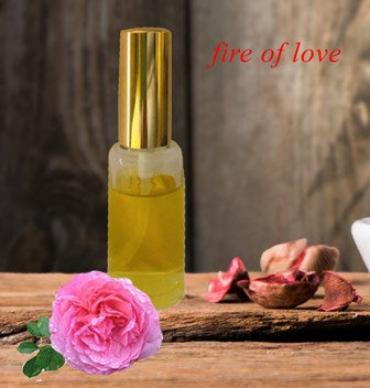 "My Last Sunday Inspiration – ""Fire of Love"" Perfume"