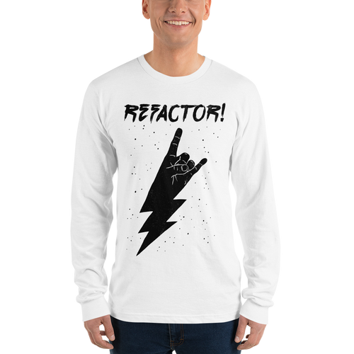 Refactor! long-sleeved tee
