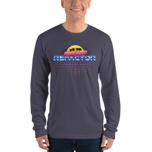 Rise and Refactor, long-sleeved tee