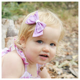 Isla Bow in Purple