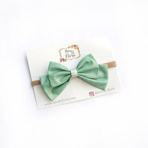 Isla Bow in Sage / Green