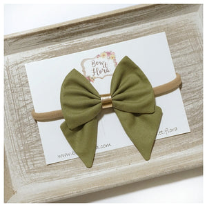 Autumn Olive Bow