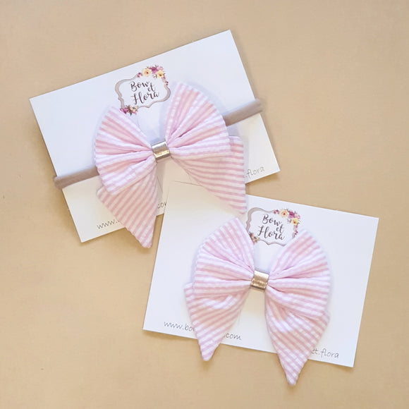 Pink Mila Bow
