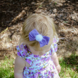 Ella Bow in Purple