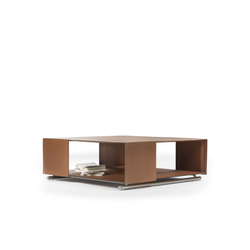 Groundpiece Saddle Bookcase Coffee Table
