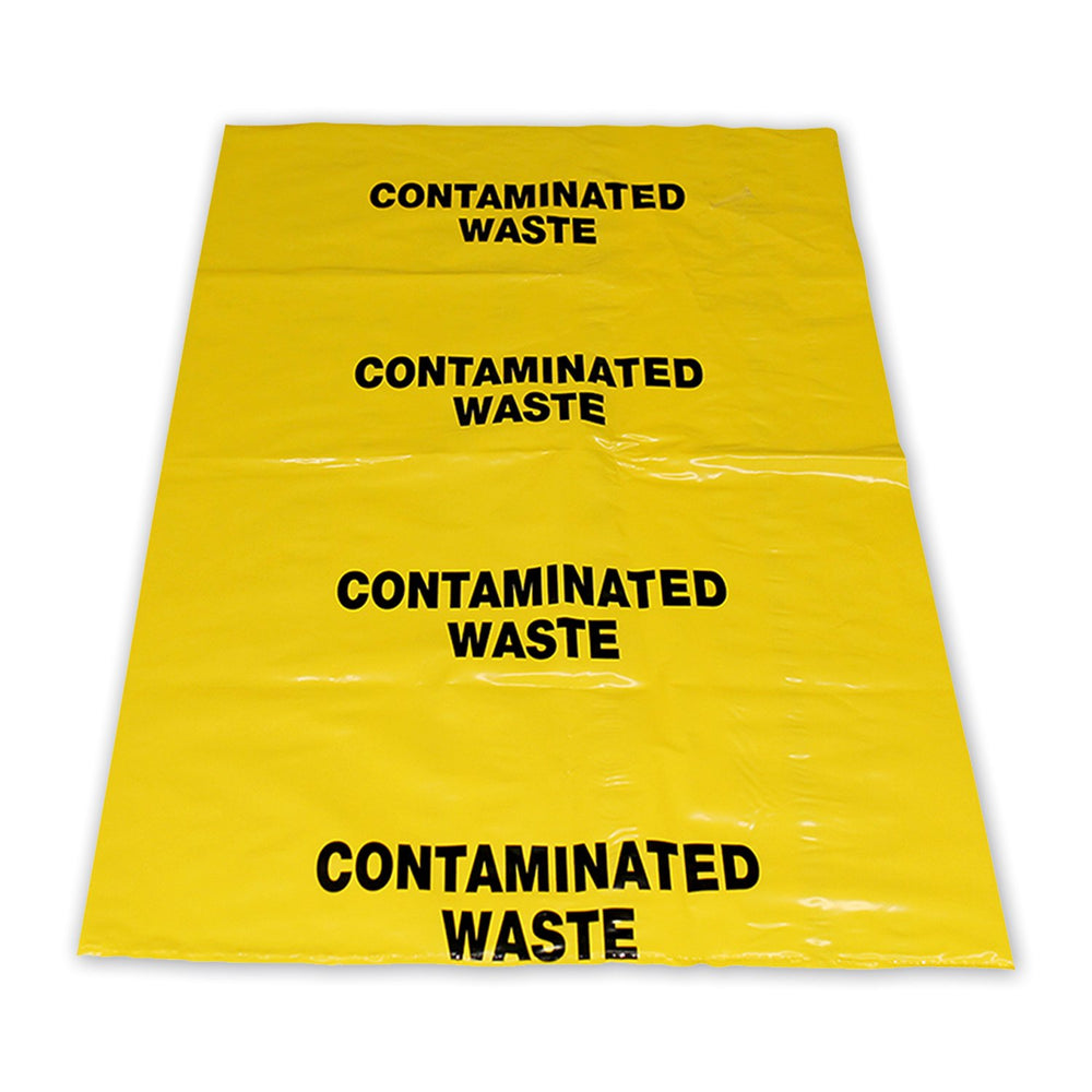 Yellow Contaminated Waste Bag