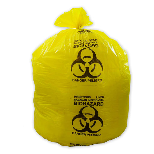 Biohazard Printed Dustbin Bag 300 Gauge