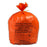 Large Orange Clinical Waste Bag