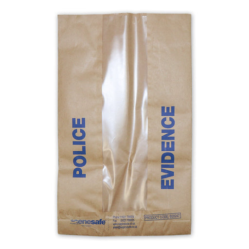 """Police Evidence"" Window Sack"